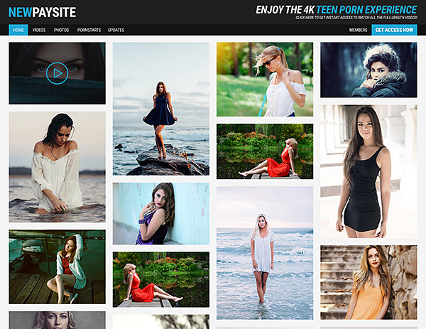 Paysite Template